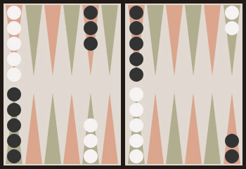 Pure race · Backgammon.se